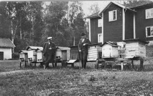 Flögfors 1928 Emil Falk och Per-Erik Holm